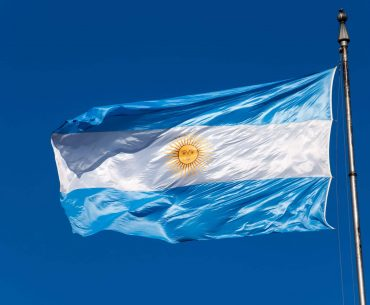 Argentina flag president Buenos Aires